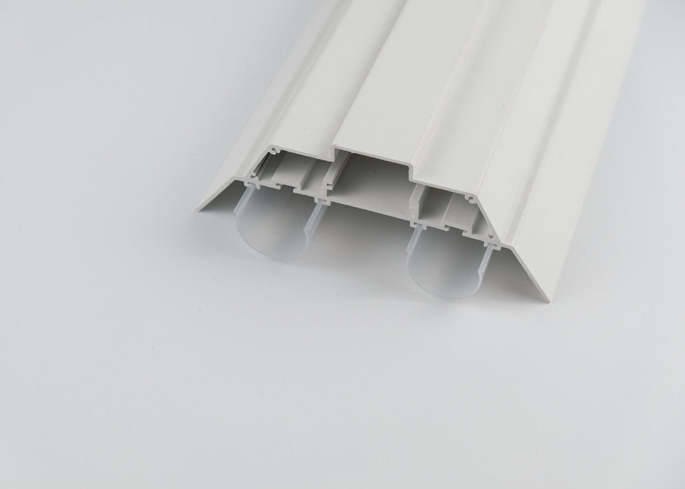 Rigid Polycarbonate LED Profile Diffuse , Custom Color Plastic Extrusion Products