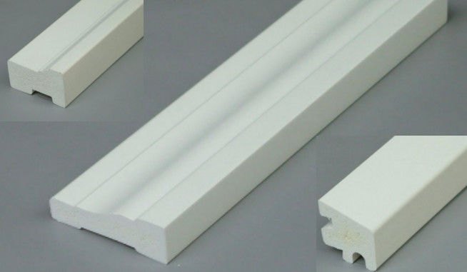 Customized Size White Pvc Foam Trim Board For Construction Building Signs