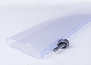 Matt / Shiny Surface Plastic Extrusion Profiles For LED Tube Cover