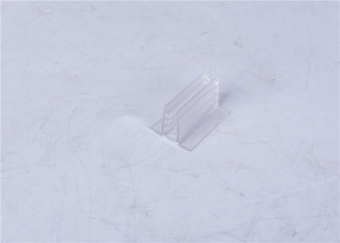 Matt / Shiny Surface Transparent Plastic Profiles ISO9001 / RoHS Approval