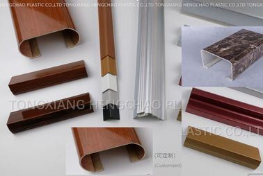 Waterproof Pvc Profile Extrusion With Printing Surface Treatment Customized