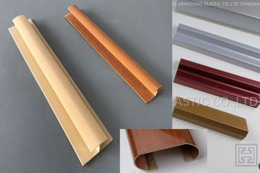 Durable H Shaped Plastic Extrusion Profiles Anti Corrosion For Ceiling Installation